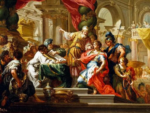 Alexandre O Grande no templo de Jerusalém