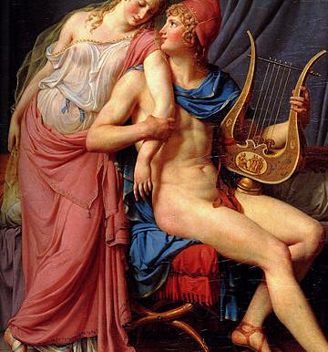 Louis David - Helena de Troia