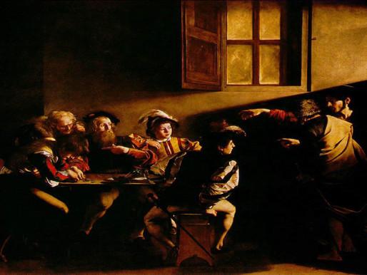 A Vocação de Mateus – Caravaggio