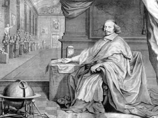 Dialogo entre Colbert e Mazarino