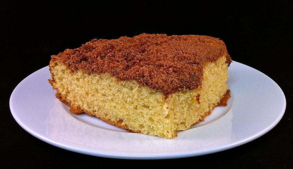 Cinnamon Sour Cream Coffee Cake