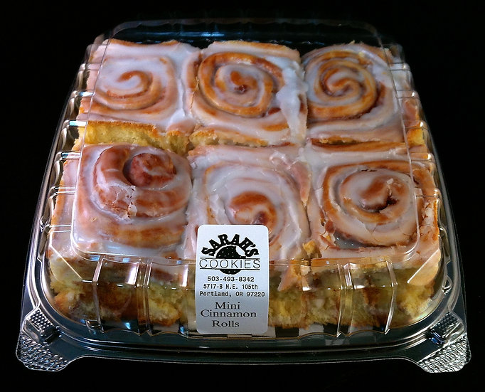 Mini Cinnamon Roll Pack