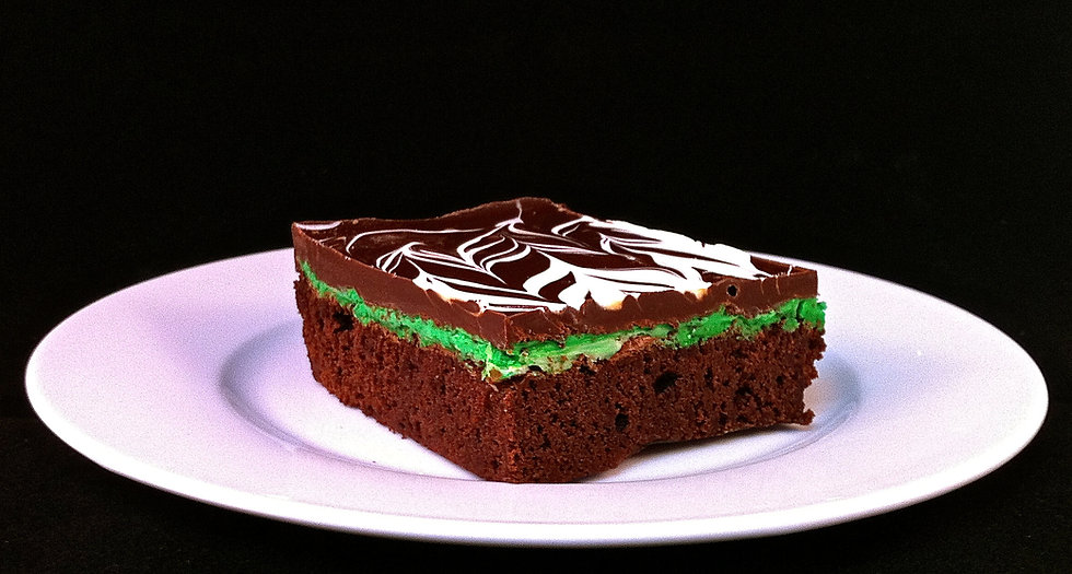 Mint Deluxe Brownie