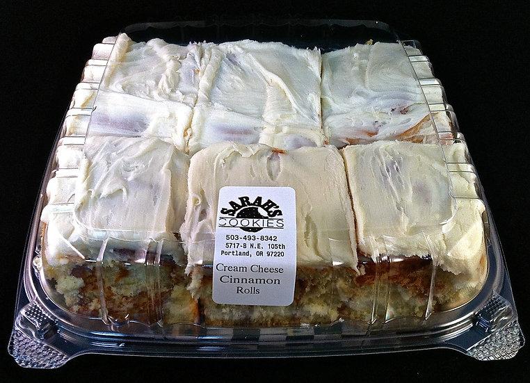 Mini Cream Cheese Cinnamon Roll Pack