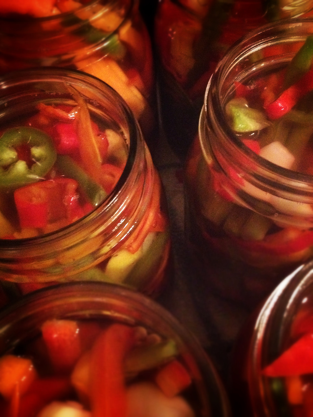 homemade pickled peppers