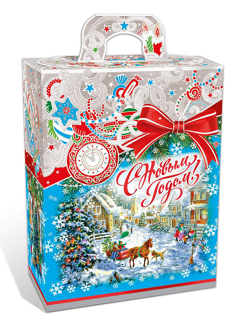 Новогодняя упаковка Ожидание рождества