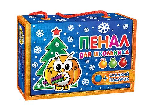 Новогодняя упаковка Пенал для школьника