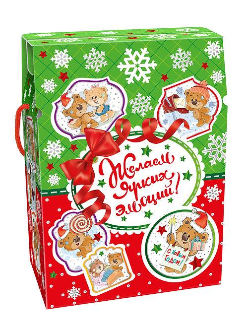 Новогодняя упаковка Сумка Мишки Тедди
