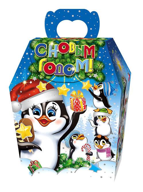Новогодняя упаковка 19 пингвинят