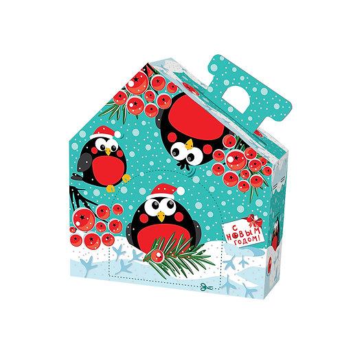 Новогодняя упаковка Снегишарики