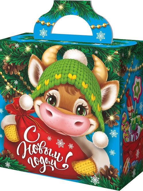 Новогодняя упаковка Милка