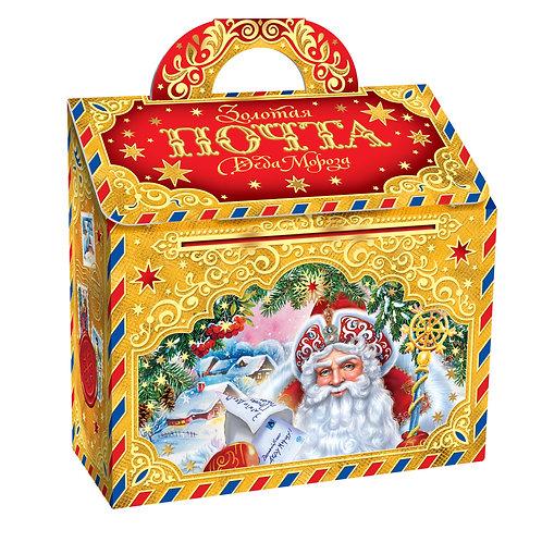 Новогодняя упаковка Золотая почта