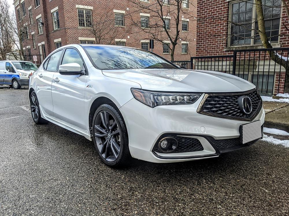 2020 Acura TLX A-Spec, White