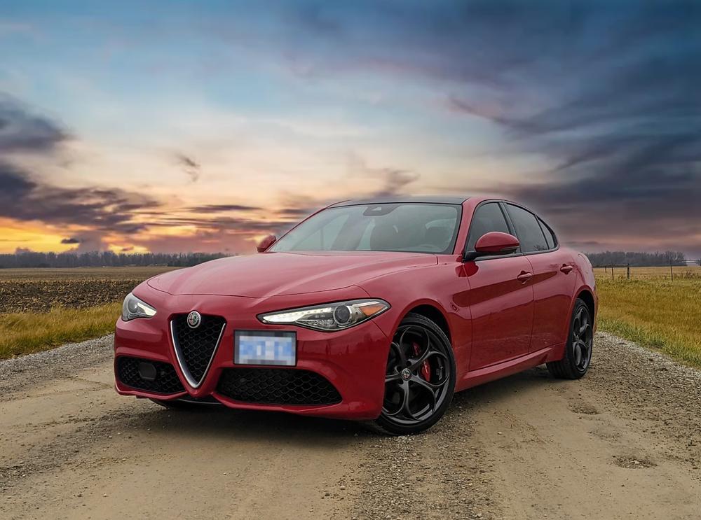 2021 Alfa Romeo Giulia Red Sport Ti Review