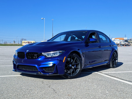 BMW M3 CS Review: A Fitting Finale