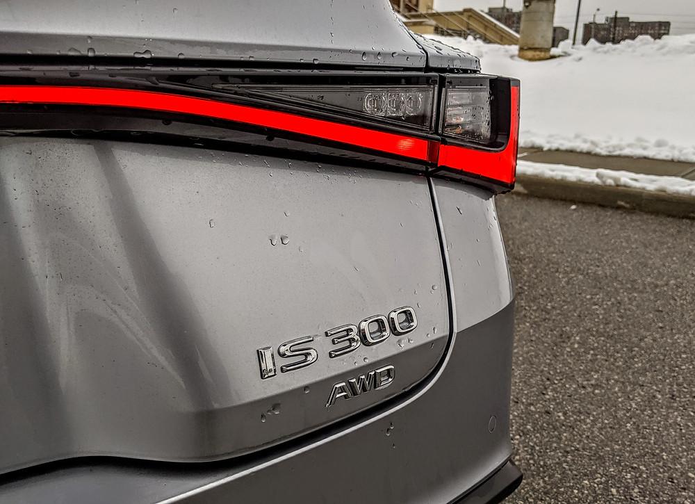Lexus IS 300 AWD Badge
