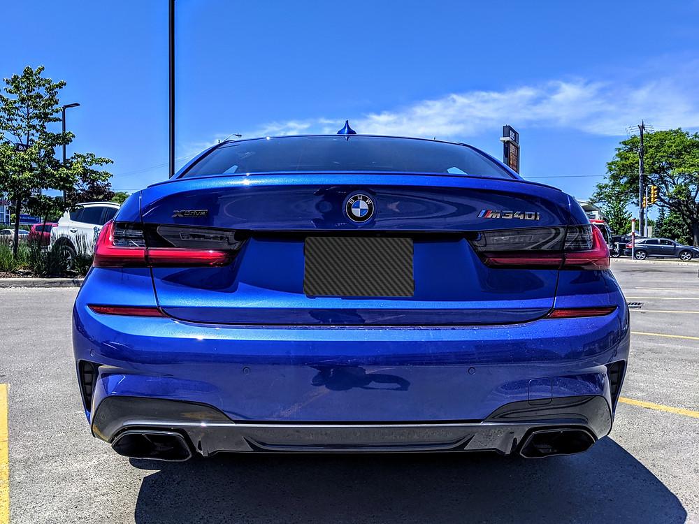 2020 BMW M340i Rear