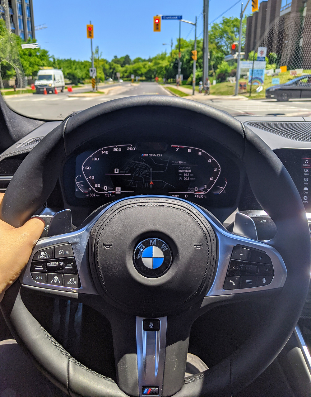 BMW M 340i 3 Series Interior