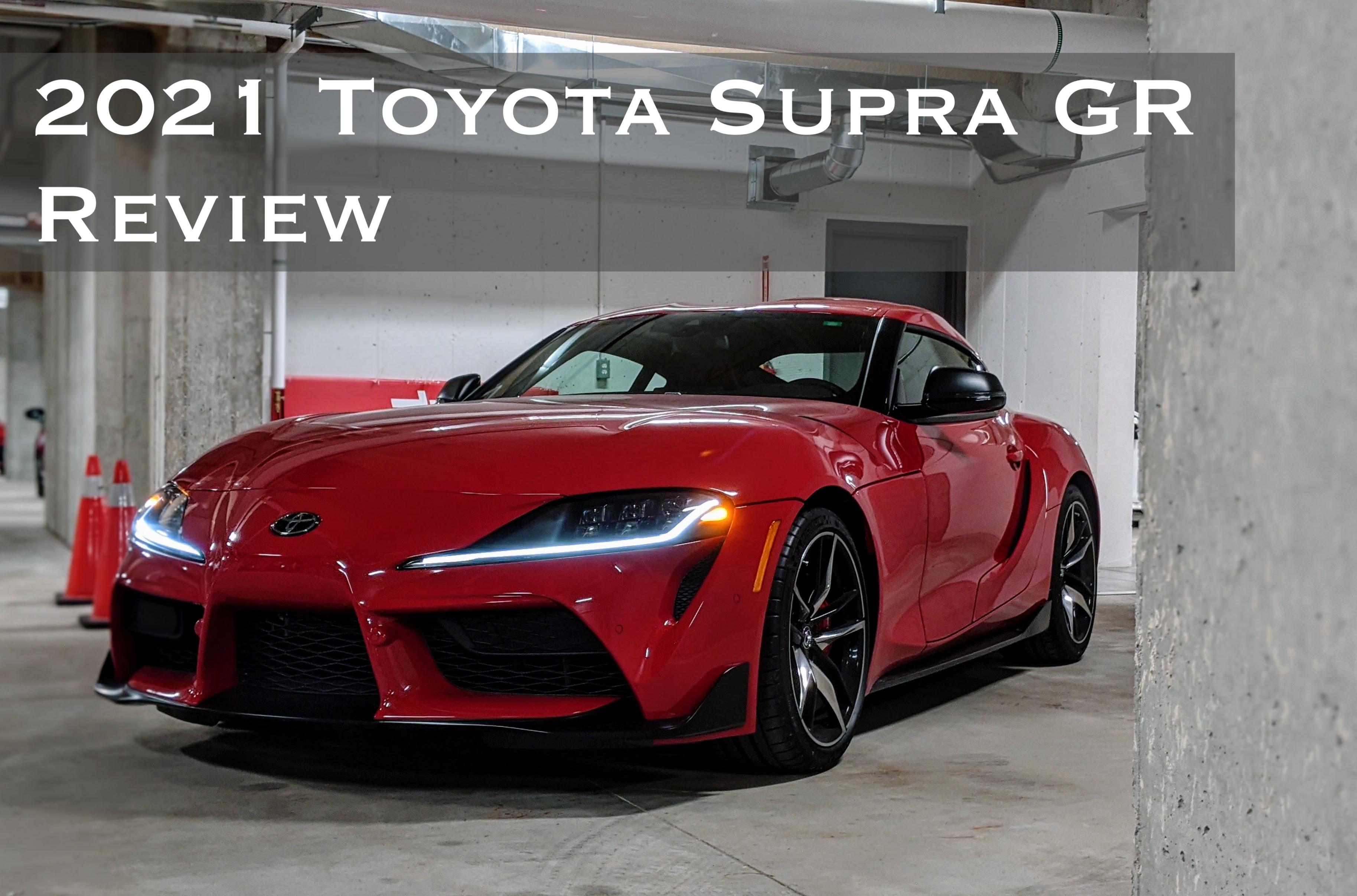 2021 Toyota GR Supra Review