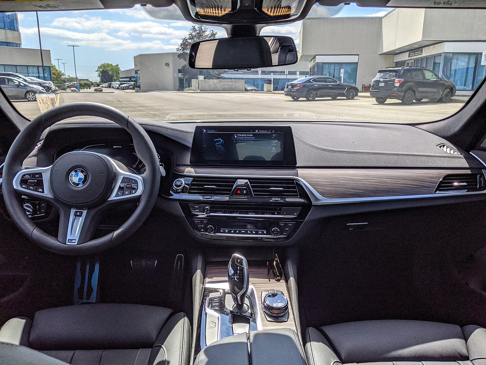 2020 BMW 5 Series Interior Review
