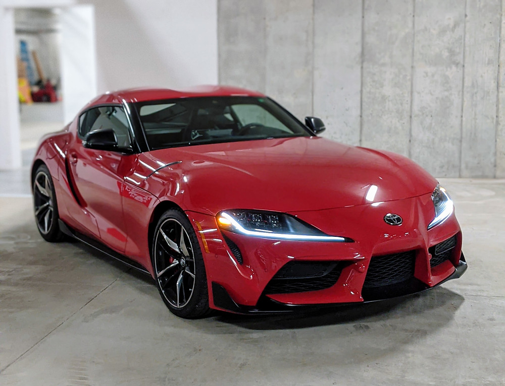 2021 Toyota GR Supra 3.0 Red