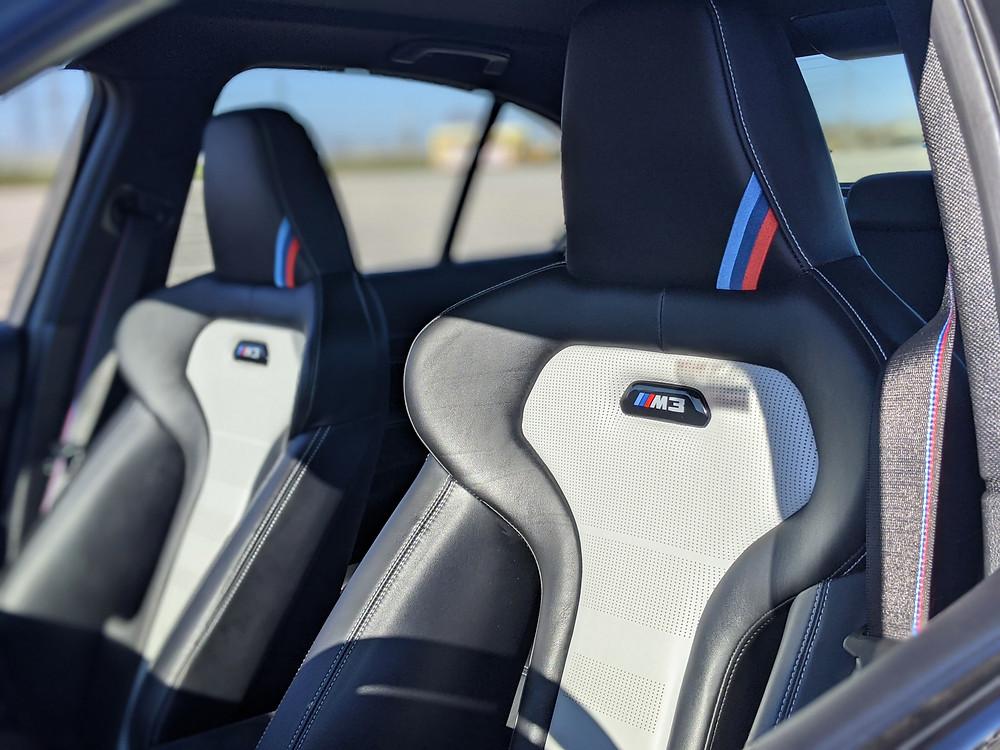 BMW M3 CS Interior Seats