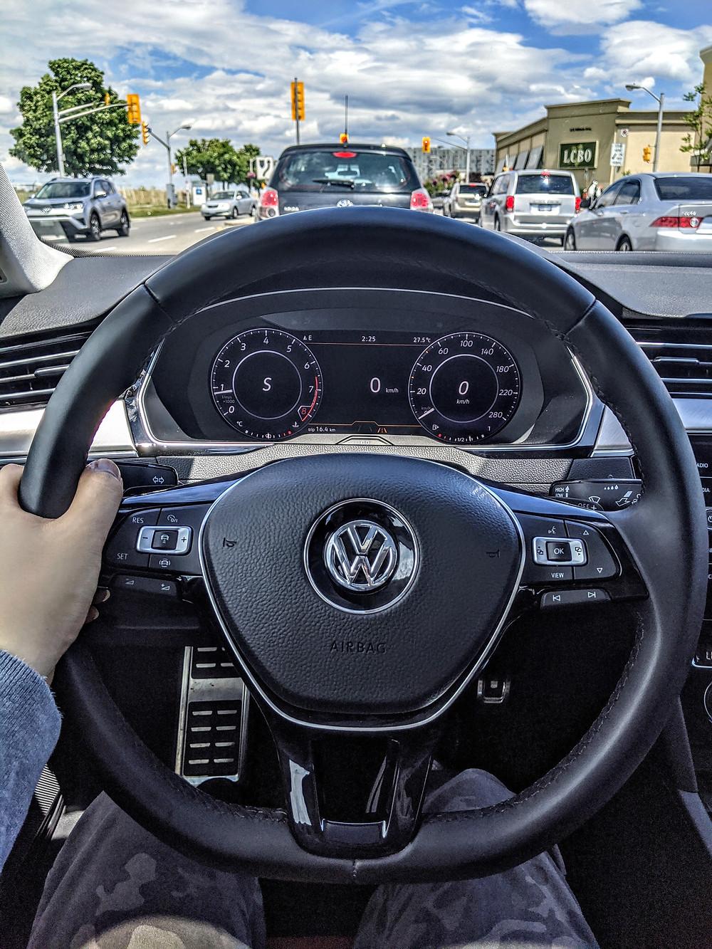 Volkswagen Arteon Behind The Wheel POV Interior