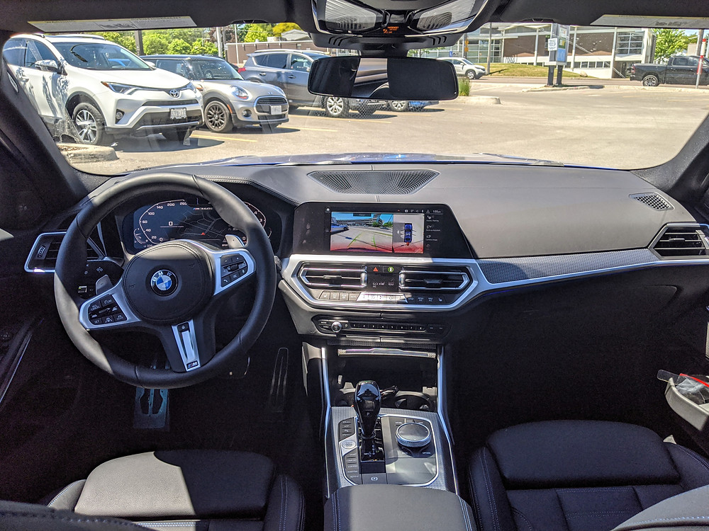 2020 BMW M340i interior