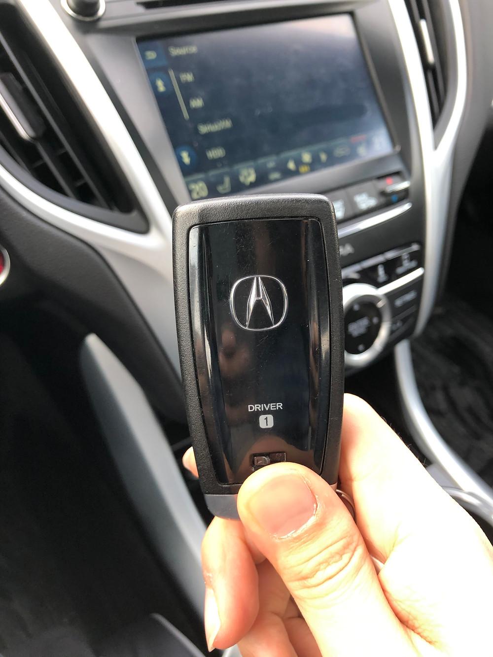 Acura TLX Key Fob
