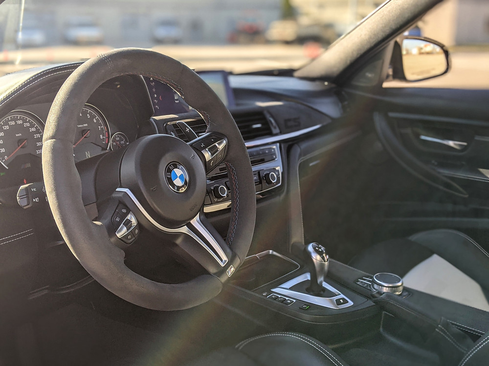 BMW M3 CS Steering Wheel Interior