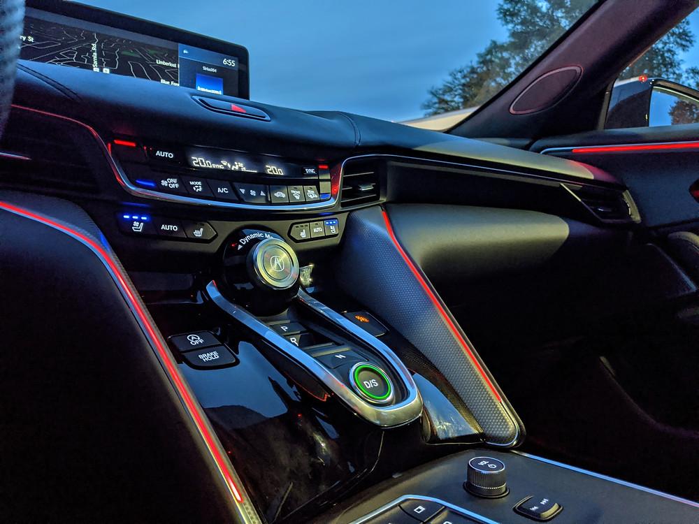 2021 Acura TLX Interior