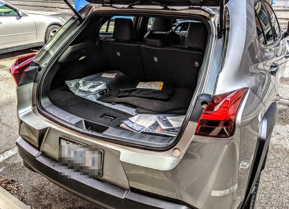 Lexus UX Trunk Space