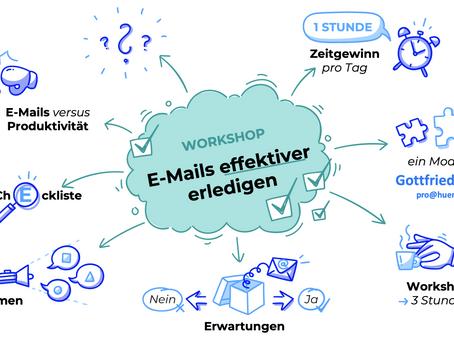 WIE Sie Ihre E-Mails effektiver erledigen