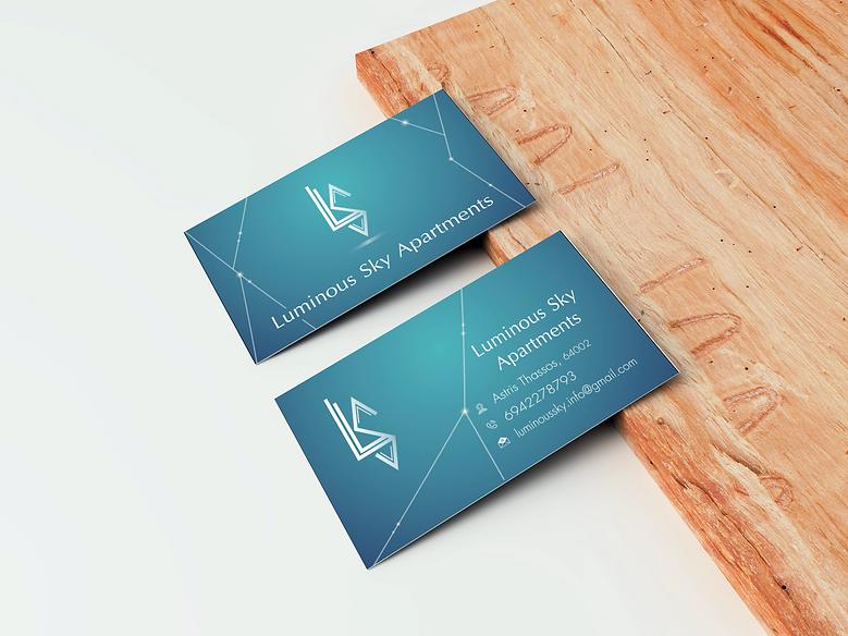 επαγγελματικες καρτες ξενοδοχειου