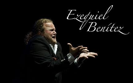 EZEQUIEL BENITEZ CON Producciones de Flamenco Sampedro