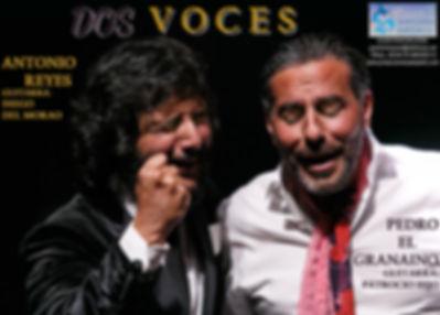 ANTONIO REYES Y PEDRO EL GR CON PRODUCCIONES DE FLAMENCO SAMPEDRONAINO