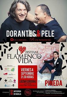 EL PELE Y DORANTES con Producciones de Flamenco Sampedro