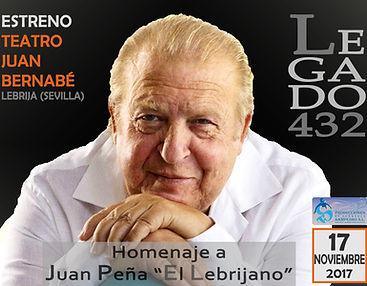 EL LEBRIJANO CON PRODUCCIONES DE FLAMENCO SAMPEDRO