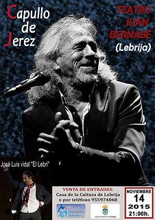 CAPULLO DE JEREZ con Producciones de Flamenco Sampedro