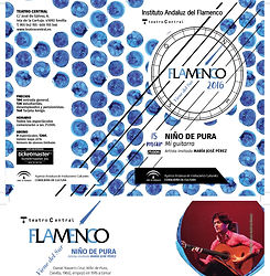 NIÑO DE PURA CON Producciones de Flamenco Sampedro
