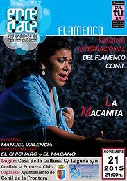 LA MACANITA con Producciones de Flamenco Sampedro