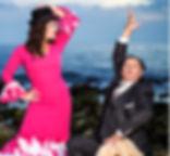 CARMEN GONZALEZ CON Producciones de Flamenco Sampedro