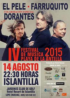 EL PELE, FARRUQUITO Y DORANTES con Producciones de Flamenco Sampedro