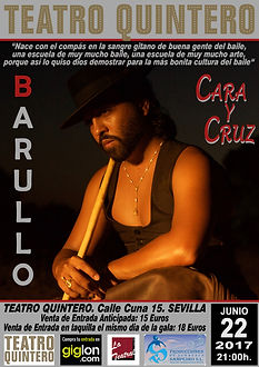 EL PELE Y BARUALLO CON Producciones de Flamenco Sampedro