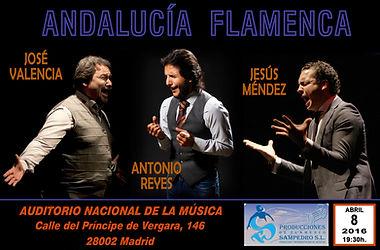 ANDALUCIA FLAMENCA Producciones de Flamenco Sampedro