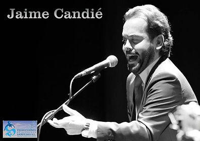 JAIME CANDIE CON Producciones de Flamenco Sampedro