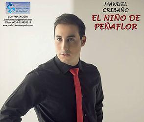 MANUEL CRIBAÑO CON Producciones de Flamenco Sampedro