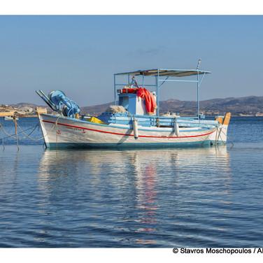 old man Yiannis boat, Milos Greece