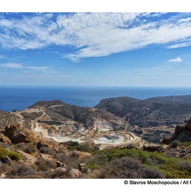 Milos, the mines