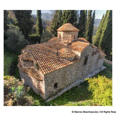 Karytaina - St Nicholas Byzantine church